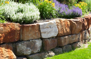 Edgewater Retaining Wall and Garden Wall Construction